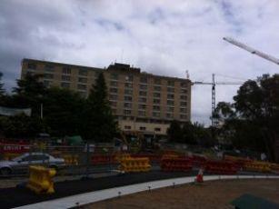 Hospital where Sharlee was born - 5 April 1976