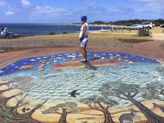 The Giant Sundial at Torquay