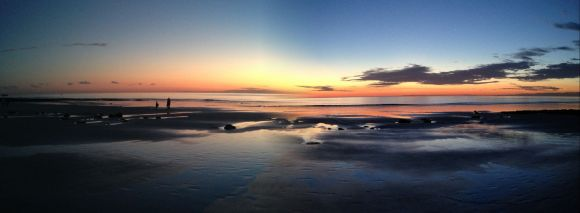 Sunsets are magnificent in Broome