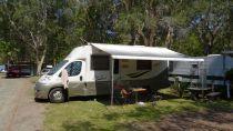 Great camping spot at Pacific Palms Caravan Park