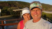 A selfie at Boomerang Beach