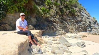 On Eagle Nest Beach
