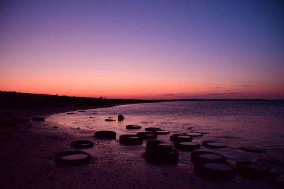 Sunset Mahers Landing