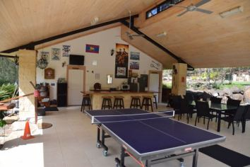 Games room and community kitchen