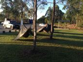 Interesting 'hammock tents'