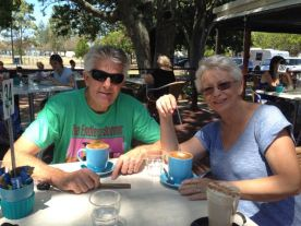 Great friends - Rod and Trudy