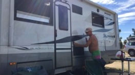 If you polish the motor home, how many minutes does that count for in exercise for the day?
